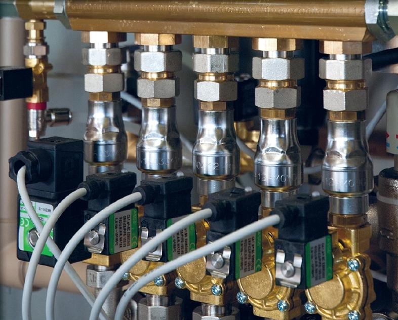 Electrovalve sisteme spalare self service