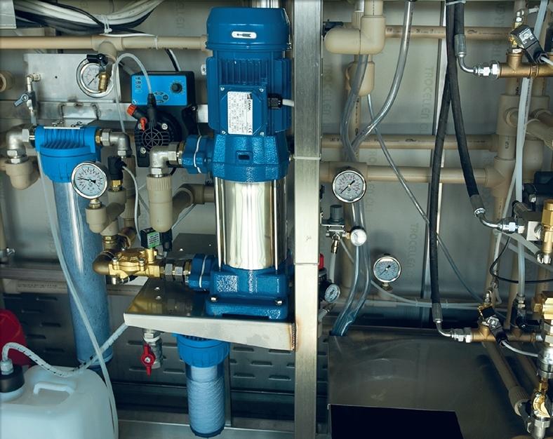 Filtre spalatorie self service