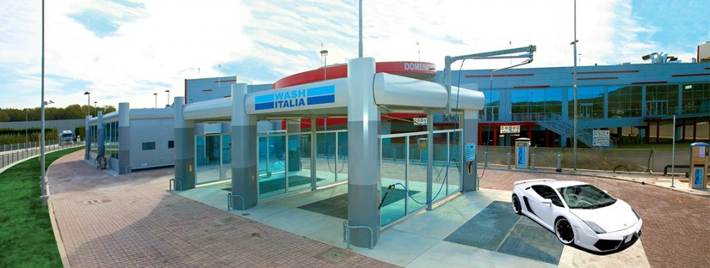 Sistem complet spalatorie auto Linea Sport