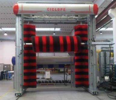 Sistemul de spalare cu perii CICLOPE