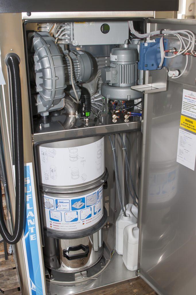 interior aspirator self service profesional