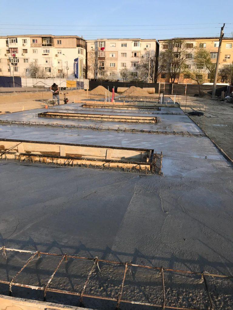 fundatie piste spalare in Galati