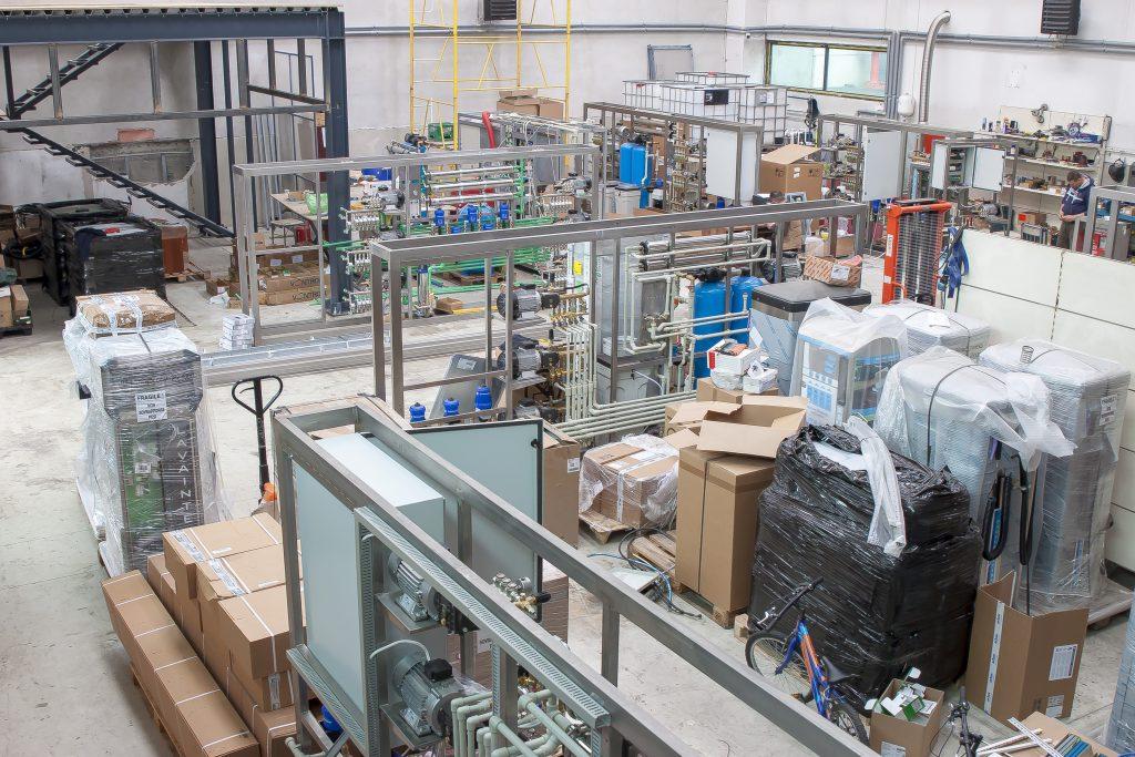 hala productie echipamente spalatorii Ramnicu Valcea
