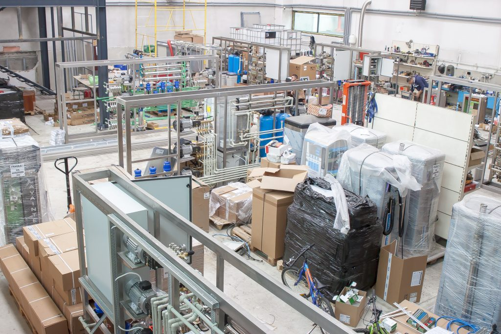 hala productie instalatii self service Wash Italia