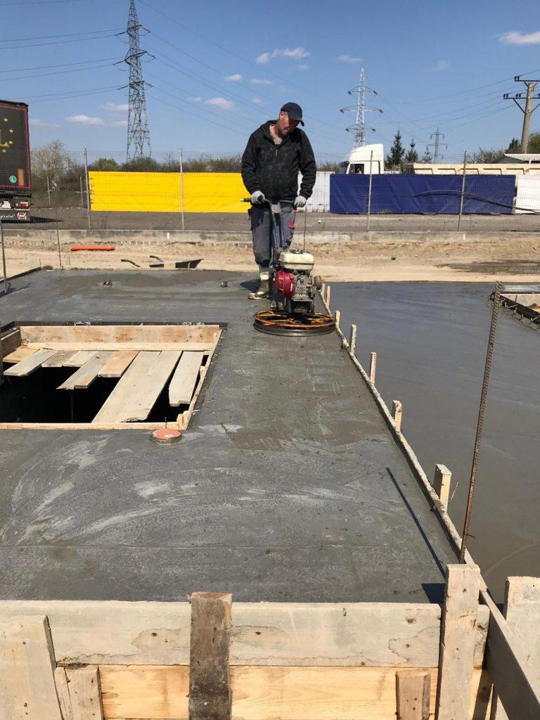 turnare beton elicopterizat piste self service