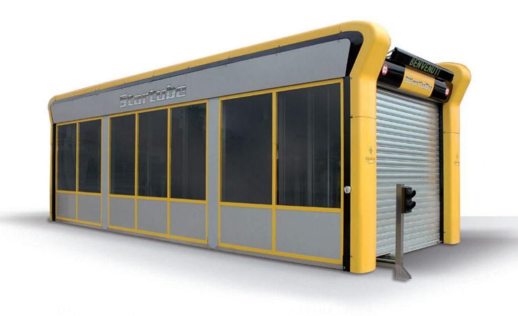 Spalatorie Automata Tip Tunel StarTube