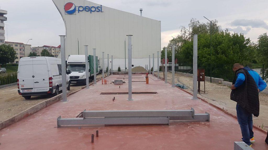 constructie spalatorie self service in Pitesti