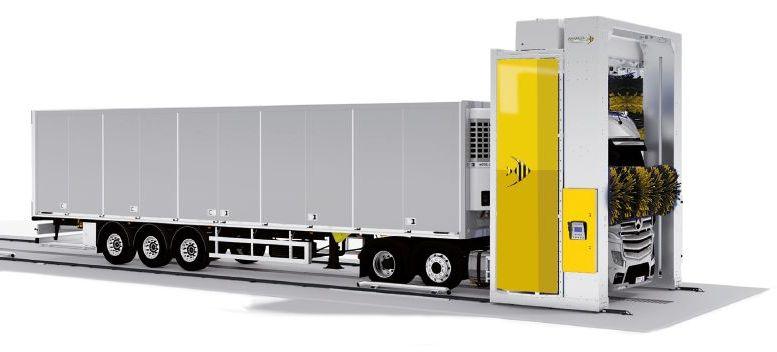 portal spalare camioane TIR
