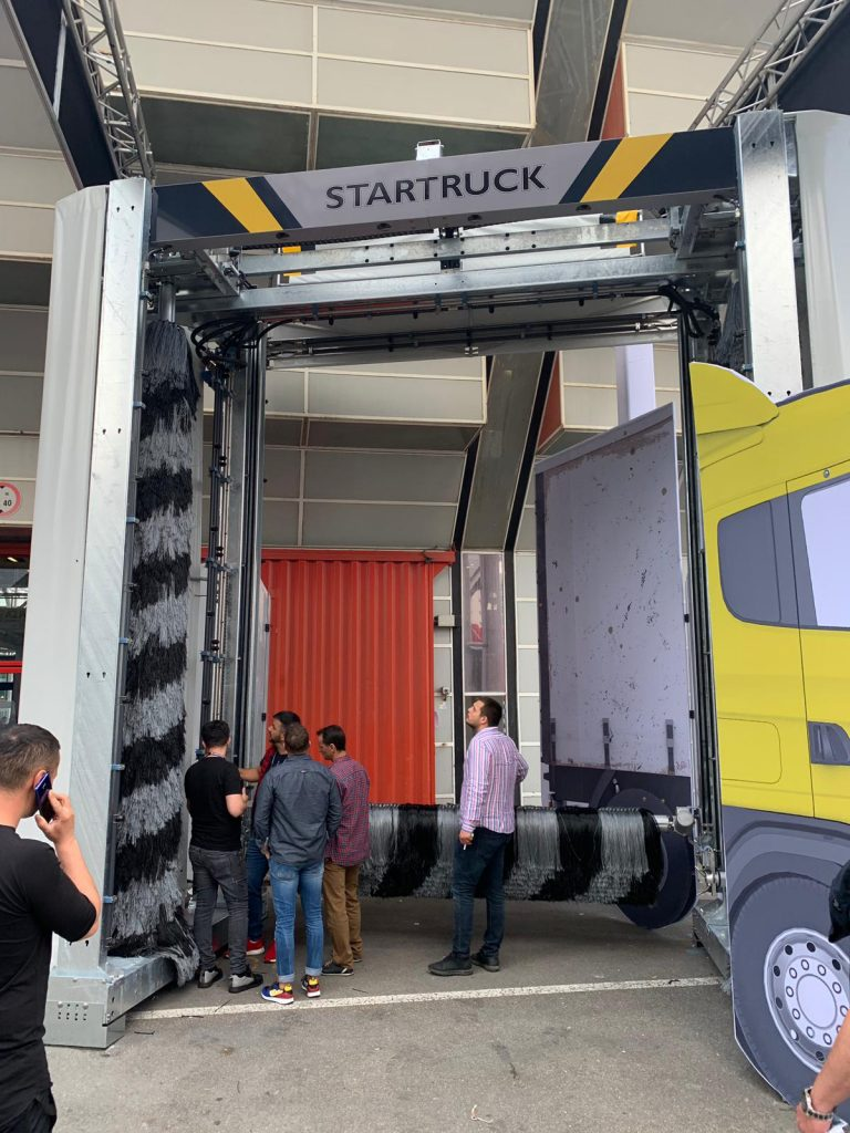 portal spalat camioane Aquarama Startruck